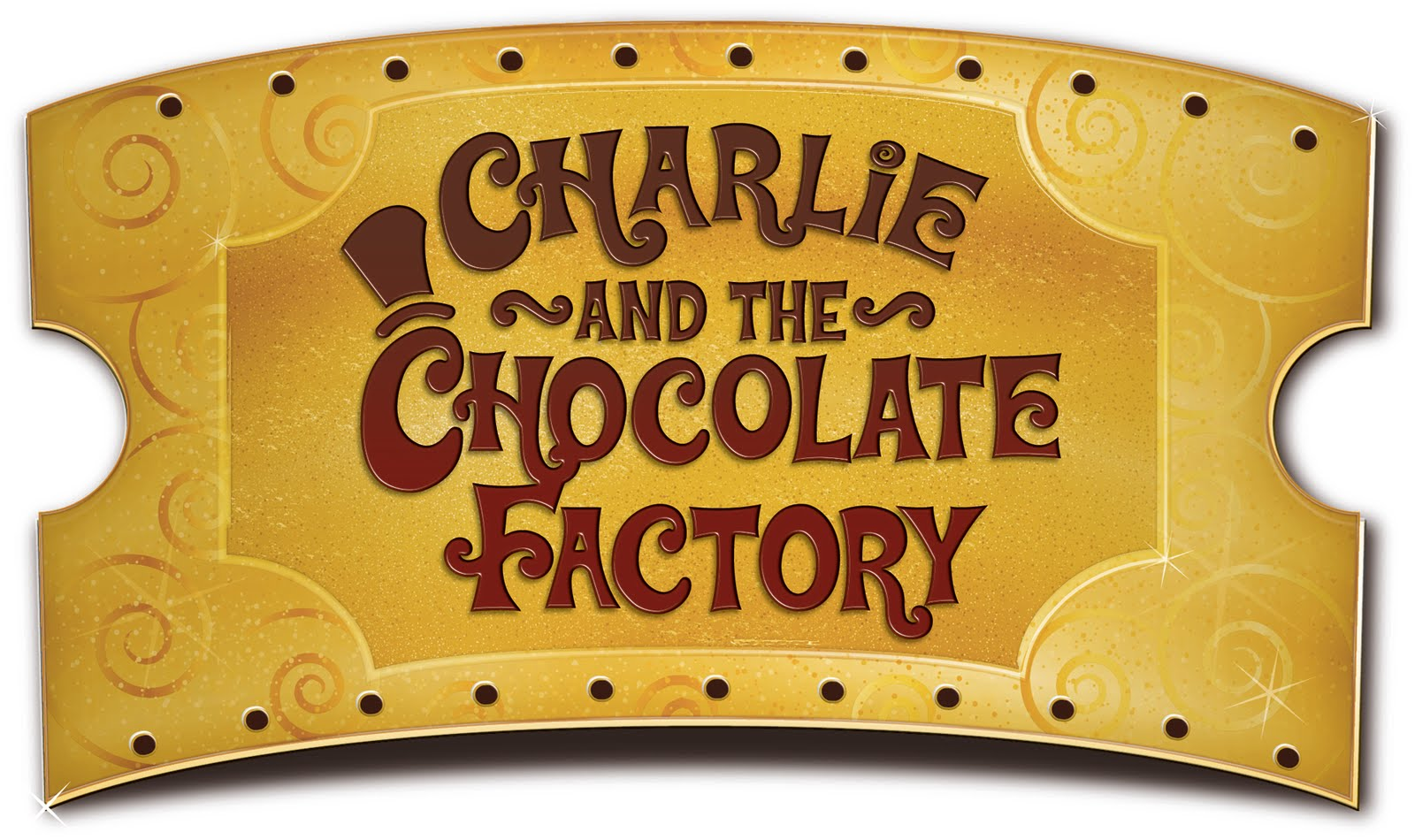 charlie and the chocolate factory-ticket